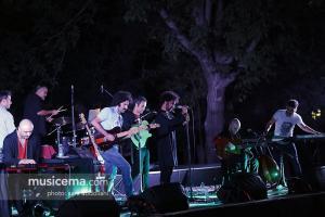 اجرای گروه کامنت و گروه داماهی در فستیوال بارانا - 24 مرداد 1395
