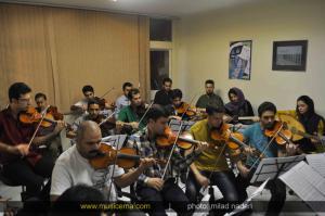 تمرینات ارکستر مهر - مهر 1393