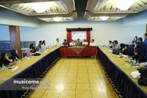 نشست خبری گروه دنگ شو - 24 شهریور 1395