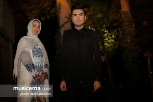 کنسرت استاد شهرام ناظری و حافظ ناظری در چهلستون اصفهان - شهریور 1396