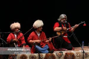 مراسم اختتامیه سی و دومین جشنواره موسیقی فجر - 1 بهمن 1395