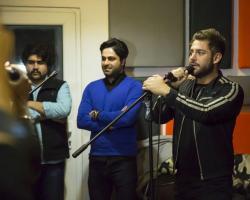 تمرین محمدرضا گلزار و گروهش برای کنسرت 20 اسفند 1395