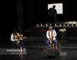 کنسرت همای و گروه پرواز در تالار وحدت - 28 آذر 1395