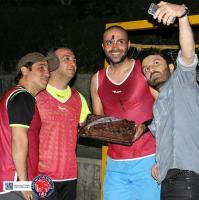 جشن تولد حامی به میزبانی تيم فوتبال ستارگان هنر ایران