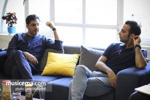 گفت و گو با هوشیار خیام و میلاد محمدی در دفتر سایت «موسیقی ما»