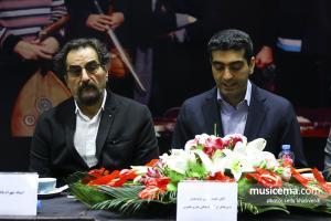 نشست خبری پیرامون کنسرت گروه کامکارها و شهرام ناظری - شهریور 1397