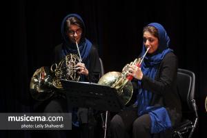 کنسرت ارکستر بادی تهران - آذر 1396