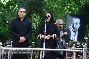 مراسم تشییع پیکر زنده یاد ناصر چشم آذر (16 اردیبهشت 1397)