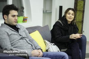 گفت و گو با پریسا و پوریا پیرزاده در دفتر سایت موسیقی ما