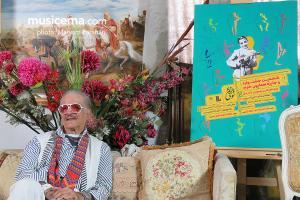 رونمایی از پوستر جشنواره موسیقی نوای خرم در منزل استاد کوروس سرهنگ زاده