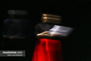 كنسرت نمايش حسين برنيا و نازنين بياتی
