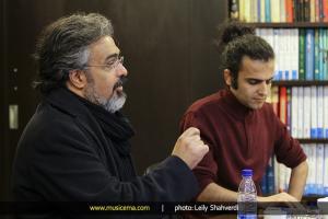 نشست خبری هفته موسیقی تلفیقی تهران  دی 1393