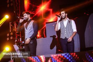 کنسرت ماکان بند - آذر 1396