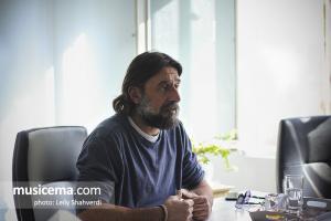 گفتوگو با رامین صدیقی در دفتر سایت موسیقی ما - پاییز 1396