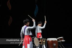 کنسرت گروه کوبه ای ژاپن در جشنواره موسیقی فجر - 29 دی 1395