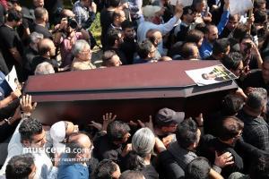 مراسم تشییع پیکر «محمود جهان» - 11 مرداد 1396