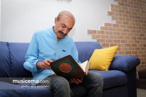 گفت و گو با «محمدجلیل عندلیبی» در دفتر سایت «موسیقی ما» - خرداد 1396
