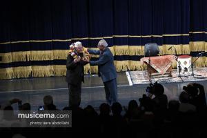 مراسم نکوداشت استاد ناصر فرهنگ فر در تالار وحدت - 20 آذر 1395