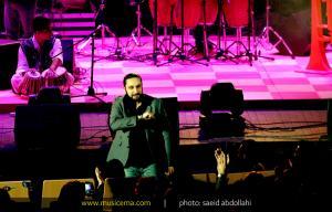 کنسرت امید حاجیلی در نمایشگاه بین المللی تهران - 2 آبان 1392