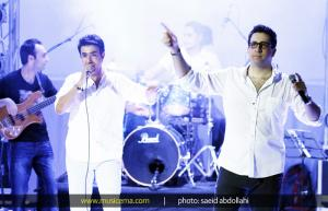 کنسرت امید حاجیلی در بندرعباس - خرداد 1393