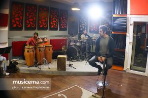 تمرین رستاک حلاج و گروهش برای کنسرت 29 آذر 1395