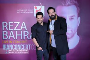 کنسرت رضا بهرام در تهران - 5 و 6 بهمن 1398