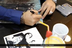 مراسم رونمایی آلبوم «دوئل در آینه» با صدای «رضا یزدانی» - 7 خرداد 1395