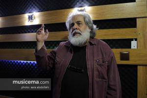 تمرین رضا یزدانی برای تئاتر محمد رحمانیان - 17 آبان 1395