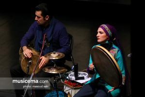 کنسرت گروه «نوبانگ مهر» به خوانندگی عبدالحسین مختاباد - سی و سومین جشنواره موسیقی فجر - 20 دی 1396
