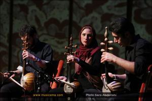 اجرای گروه نوازی کمانچه به سرپرستی نوید دهقان - بهمن 1394 (جشنواره موسیقی فجر)