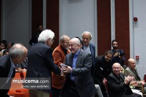 مراسم اهدای آثار لوریس چکناواریان به موزه موسیقی