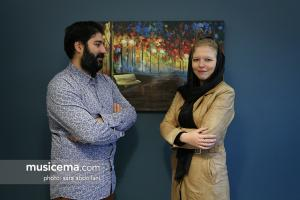 گفتوگو با آیدین صمیمی مفخم و مارتینا کوسسکا در دفتر سایت موسیقی ما