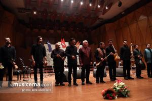 کنسرت گروه صنم به سرپرستی حسام اینانلو و خوانندگی مظفر شفیعی - سی و سومین جشنواره موسیقی فجر - 22 دی 1396