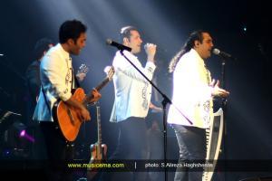 کنسرت گروه سون در تهران - 10 اردیبهشت 1395