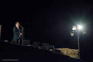 اجرای شهرداد روحانی در شبهای موسیقی بارانا - کرمانشاه - 22 شهریور 1395