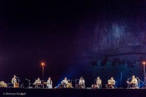اجرای گروه شمس در شبهای موسیقی بارانا - کرمانشاه - 29 شهریور 1395