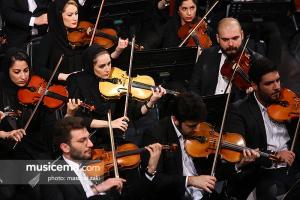 کنسرت ارکستر سمفونیک تهران به رهبری «پژمان معمارزاده» - 30 فروردین 1397