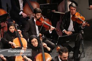 کنسرت ارکستر سمفونیک تهران به رهبری شهرداد روحانی - 6 اسفند 1395