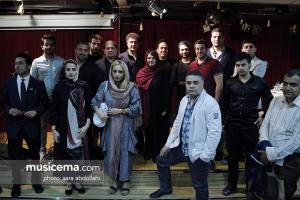 اولین جلسه آواز و ترانه با حضور افشین مقدم و ملیکا تهرانی