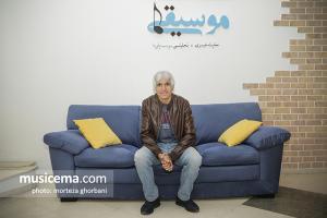 گفت و گو با «غلام علمشاهی» در دفتر سایت «موسیقی ما»