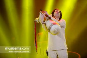 کنسرت تهران امید حاجیلی - 6 بهمن 1396