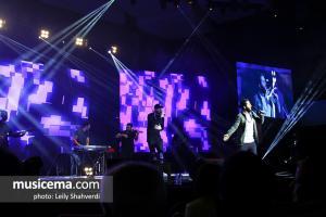 اولین کنسرت مسیح و آرش - 17 اسفند 1396