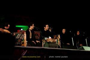 کنسرت شهرام ناظری و حافظ ناظری در شیراز - شهریور 1394