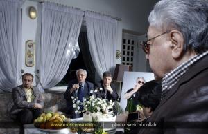 مراسم تولد استاد اکبر گلپایگانی