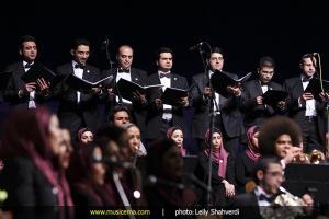 کنسرت ارکستر بادی تهران و عالیم قاسمف - دی ماه 1393