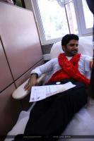 مجید خراطها - اهدای خون (مرداد 1393)
