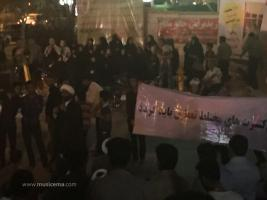 تجمع برای لغو کنسرت مسعود شعاری و حسین علیشاپور - ماهشهر (اردیبهشت 1394)