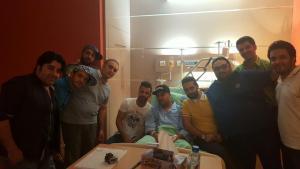 بهنام صفوی در بیمارستان - 2