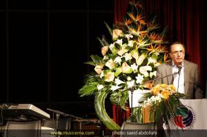 مراسم بزرگداشت استاد حسین خواجه امیری