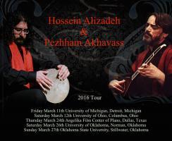 حسین علیزاده در آمریکا روی صحنه میروند